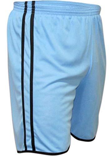 KIT 5 Calção Futebol Kanga Sport Modelo 2 Faixa Em Dry Fit