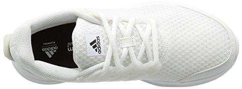 adidas Galaxy 3M, Zapatillas de Running Para Hombre Blanco (Ftwr White/Crystal White /Silver Met)