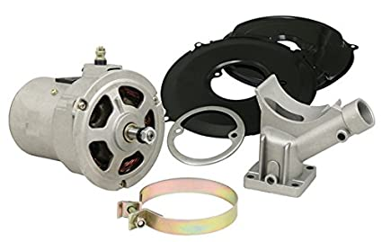 12 VOLT ALTERNATOR CONVERSION KIT, 55 AMP, FOR VW BUG, BEETLE, GHIA, BUS