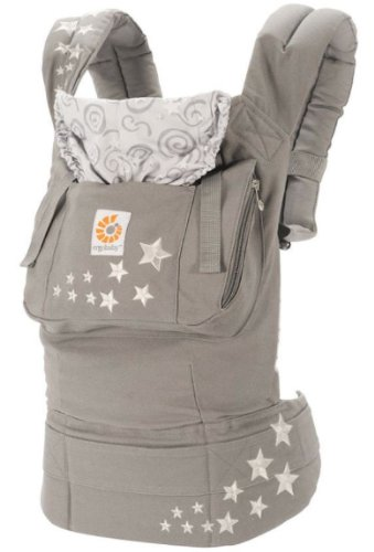 Ergo Nomic Baby Carrier Galaxy Grey with Stars by Ergo Baby
