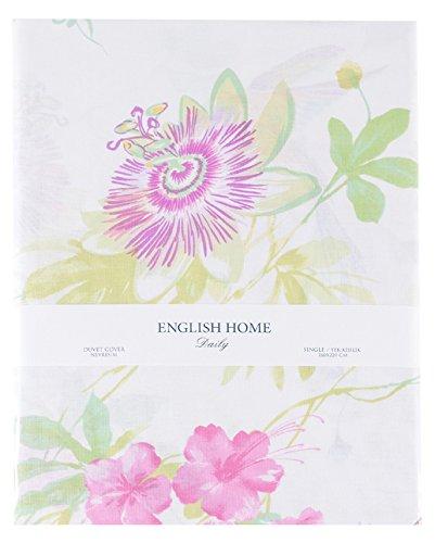 english home humming birds bettdecke bettwasche baumwolle fuchsie 220 x 160 cm amazon de kuche haushalt