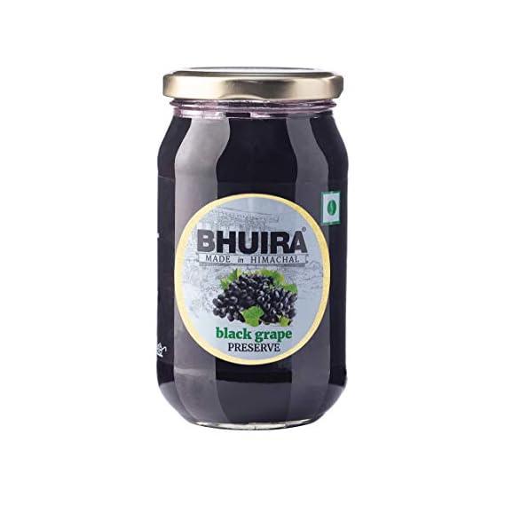 Bhuira Black Grape Preserve, 240grams