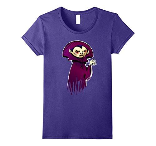 Womens Funny Vampire Halloween T-Shirt Gift Kids Boys Girls XL (Funny Female Movie Characters Halloween)