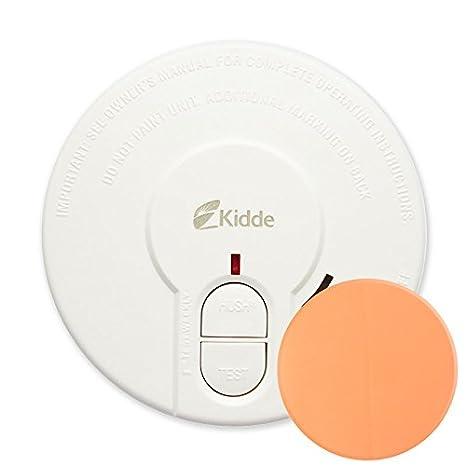 Detectores de humo kidde 29H-FR con botón de silencio sistema de fijación adhesivo: Amazon.es: Electrónica