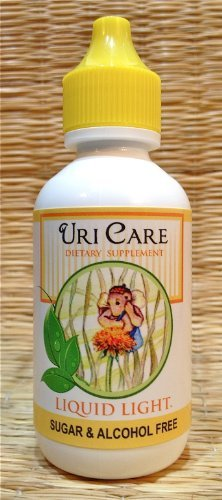 Uricare 2 Oz. Cystitis, Bladder & Urinary Infections. Child Safe Too. Used Safely and Effectively for Over 20 Years. by Liquid Light