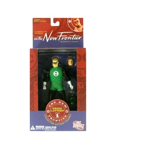 JLA New Frontier Series 1: Green Lantern Hal Jordan Action Figure