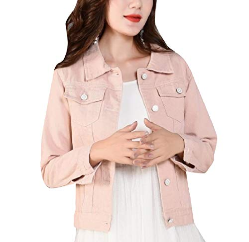 AS2 Howme Jackets Denim Fashional Tops Outwear Slimming Boyfriend Women 88qRwCSU