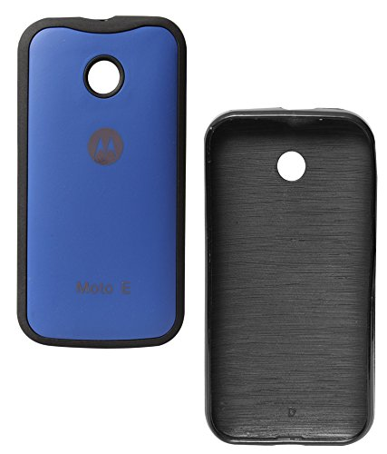 newest c412e 221a8 DMG TPU Back Cover for Motorola Moto E XT1022 (Blue): Amazon.in ...