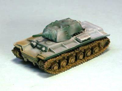 (Takara Tomy 1/144 World Tank Museum Series 02-20 KV-1A Heavy Tank Winter Camouflage Single Item)