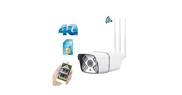 Amazon.com: 3G 4G tarjeta SIM IP cámara inalámbrica 1080P HD ...