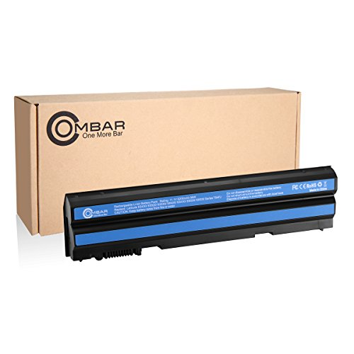 Ombar 5200mAh Replacement Battery for Dell Latitude E6420 E6430 E6530 E6520 E5430 E5530, Compatible P/N:T54FJ T54F3 M5Y0X 312-1163 HCJWT 7FJ92 KJ321 with Samsung Grade A 6 cells