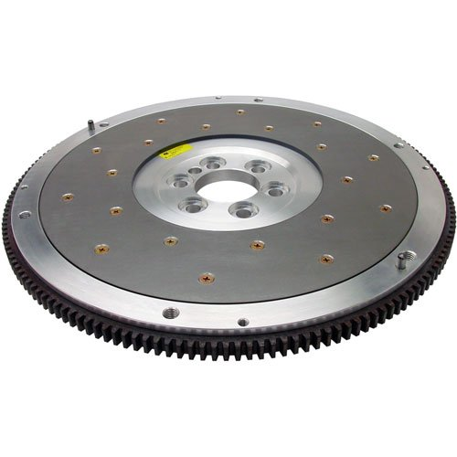 - Fidanza 198571 Flywheel-Aluminum PC C5 High Performance, Lightweight with Replaceable Friction Plate