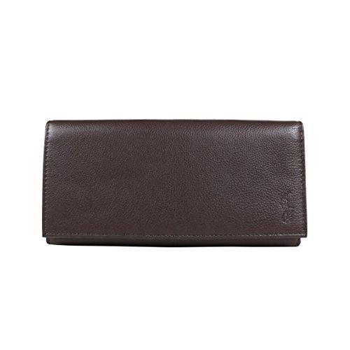 ラルフ ローレン 財布 長財布 405526201 メンズ (並行輸入品) B07CM5L8HL ブラウン ブラウン