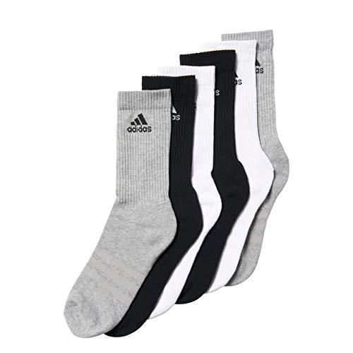6 adultos Juego Adidas gris Calcetines Per de blanco 3s negro mixtos Cr xfYnp1w7q
