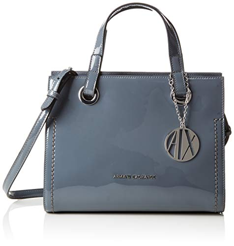 (A|X Armani Exchange Small Handbag, Grigio-Grey 169)