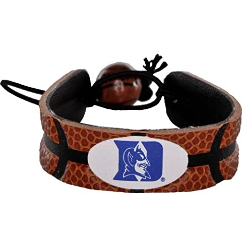 Duke Blue Devils Classic Basketball Bracelet - Gamewear Sports Bracelet