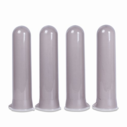 Tubes 4 Harness Paintball (Tippmann Paintball Heavy Duty 140 Round Guppy Pods, Smoke, Pack of 4)