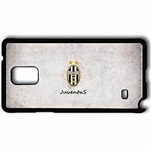 Personalized Samsung Note 4 Cell phone Case/Cover Skin Logo Juventus Symbol Football Command Black Kimberly Kurzendoerfer