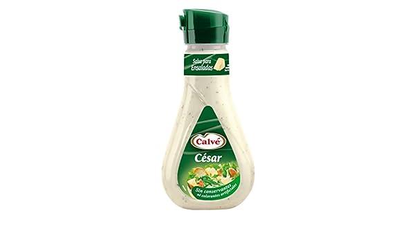 Calve - Salsa para ensalada César - 235 ml - [Pack de 6]: Amazon.es: Alimentación y bebidas
