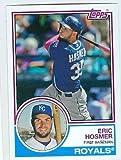 Eric Hosmer baseball card (Kansas City Royals) 2015 Topps Archives #247