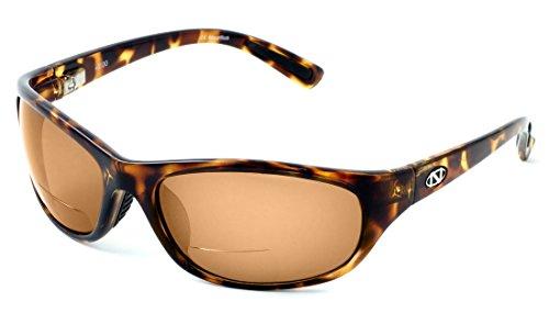 - Onos Oak Harbor 105AM250 AMBER Lens Polarized +2.50 ADD Reading Sunglasses
