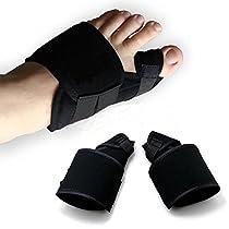 1 Pair Bunion Corrector Big Toe Bunion Splint Straightener Corrector Hallux Valgus Pain Relief Foot Pain Relief Corrector(L)