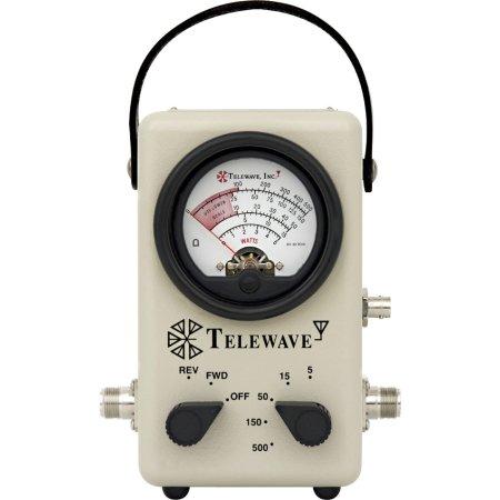 Wattmeter 44AP//UHF Telewave w//UHF connector /& tap