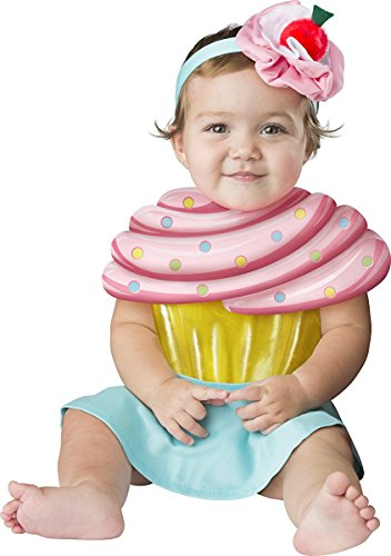 Fun World Baby Girls' Cupcake Cutie, Multi, S - Cherry Girl Costumes