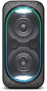 Caixa de som Bluetooth com bateria integrada GTK-XB60 com Extra Bass, NFC, Conexão USB, Led multicolorido   GT