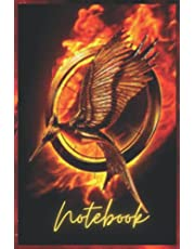 Notebook - Songbirds and hunger snakes Notebook| hunger game journal 8: The ballad_6in x 9in x 114 Pages White Paper Blank Journal with Black Cover Perfect Size