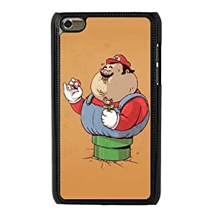 The best gift for Halloween and Christmas iPod 4 Case Black Fat Super Mario RPR1734873