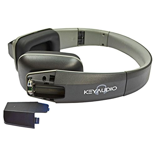 Key Audio 6 Two Channel Folding Adjustable Universal Rear Entertainment System Infrared Headphone Car TV Video Audio and Listening with Superior Sound Quality by Key Audio (Image #1)