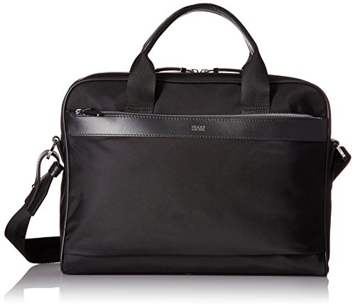 BOSS Hugo Boss Men's Digital Light Nylon Document Case, Black by HUGO BOSS