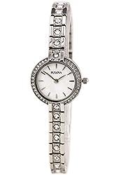 Bulova Women's Crystal - 96L209 White Watch