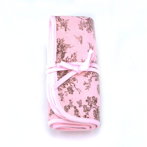 Pink Toile Changing Pad - Infantissima Changing Pad, Toile Pink