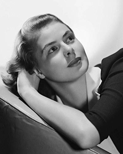 Ingrid Bergman 8x10 Photo - No Image is Cropped. No white or black borders, What you see is what you get. #IG027A (Bergman Antique)