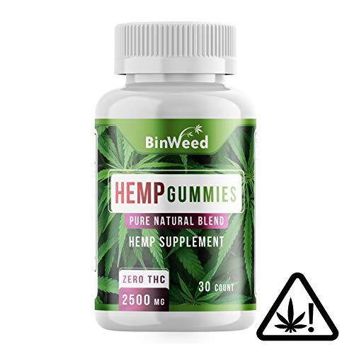 Maximum Strength Hemp Gummies | 2500mg per Bottle, 84MG per Gummy | Relieves Pain, Stress, Anxiety, Inflammation, Insomnia