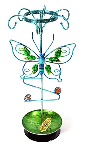 Bejeweled Display Butterfly Shape Earring Holder~Bracelet~Necklace Tree~Ring Jewelry Display w/ Gift Box