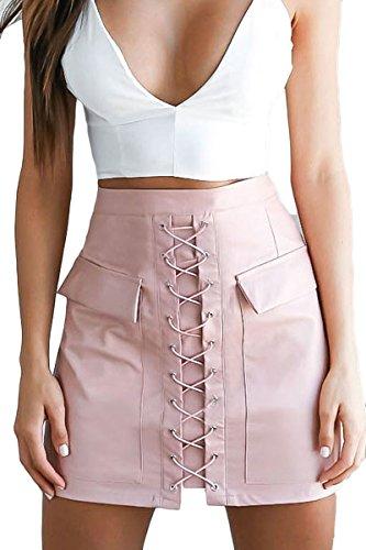 Prograce Women Bodycon Front Pockets