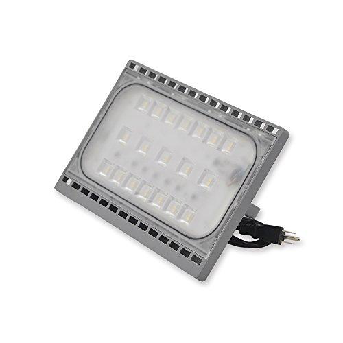 50w LED Flood Light,IP65 Waterproof,Secure Light, 5000lm,300W Halogen Bulb Equivalent Outdoor Super Bright Wall Lights, 5000K Daylight White,Floodlight (50W Daylight) (Light Wall 50w)