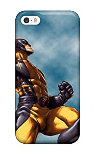 Iphone 5/5s Case Cover With Shock Absorbent Protective Wolverine Case