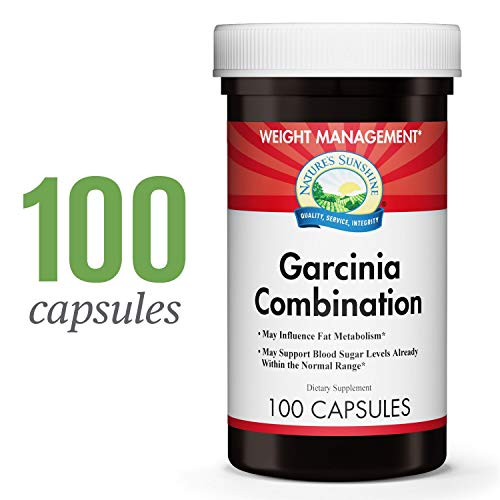 Nature's Sunshine Garcinia Combination, 100 Capsules | Helps Support Weight Management, May Support Blood Sugar Levels, and May Influence Fat Metabolism