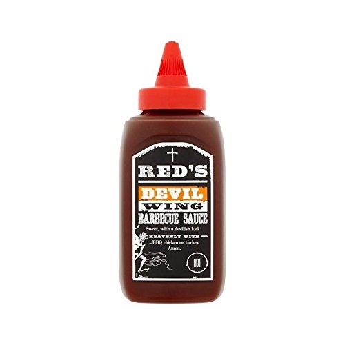 Ala Diablo Salsa Barbacoa 320 G De Rojo - Paquete de 6