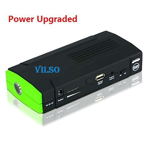 Vilso Power D28 400 Amp Peak With 13600mAh Portable Car Battery Jump Starter (20a Stage Pin)