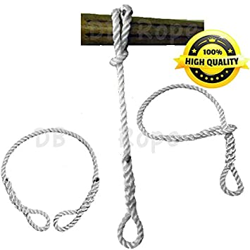Amazon com : Tree Swing / Hammock Hanging Safer Nylon Rope