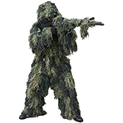 Red Rock Outdoor Gear Men's Ghillie Suit, Woodland Camouflage, X-Large/XX-Large