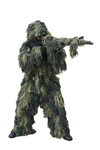 Red Rock Outdoor Gear Men's Ghillie Suit, Woodland