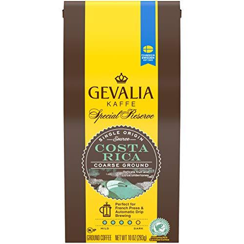 - Gevalia Costa Rica Coarse Ground Coffee (10 oz Bag)