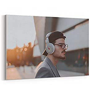 Westlake Art - Canvas Print Wall Art - Eyewear Glasses on Canvas Stretched Gallery Wrap - Modern Picture Photography Artwork - Ready to Hang - 18x12 (f30 4d1)