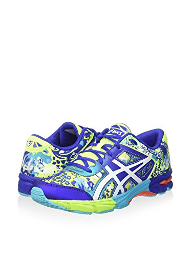 Asics Gel-Noosa Tri 11 GS Kids Flash Yellow/White/Scuba Blue C306N 0701